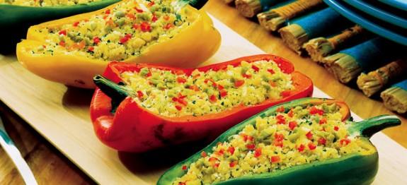 Canoa de pimentão receita