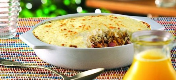 Receita Lasanha de arroz