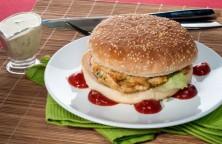 Receita Hambúrguer de peixe