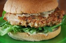 Receita Hambúrguer de frango
